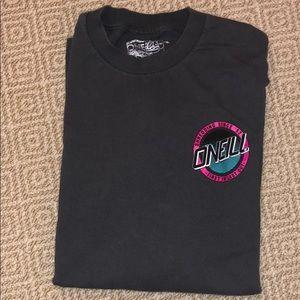 O'Neill grey long sleeve shirt